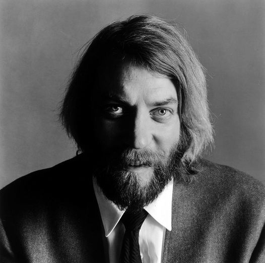 Happy Birthday to Donald Sutherland who turns 86 today! Photo by Jack Robinson ... 1