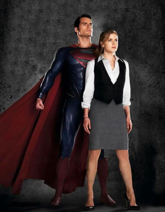 Henry Cavill and Amy Adams. Superman and Lois Lane in Man of Steel (2013).... 1