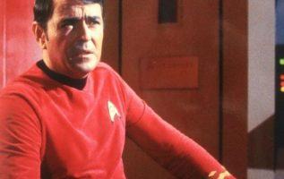 James Doohan (March 3, 1920 - July 20, 2005). Scotty on Star Trek....