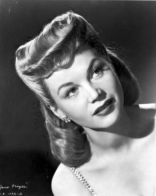 Jane Frazee (July 18, 1918 - September 6, 1985).... 1