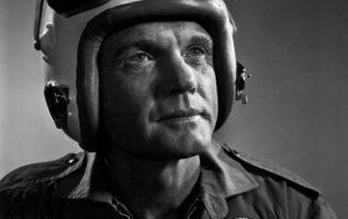 John Glenn (July 18, 1921 - December 8, 2016) photographed by Yousuf Karsh....