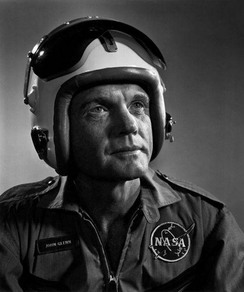 John Glenn (July 18, 1921 - December 8, 2016) photographed by Yousuf Karsh.... 1