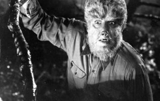 Lon Chaney Jr. (February 10, 1906 - July 12, 1973).  The Wolfman (1941)....