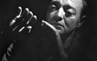 Peter Lorre photographed by Yousuf Karsh....