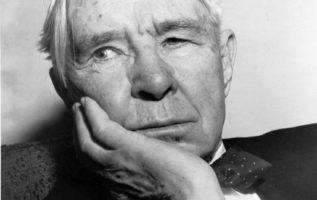 Poet and Writer Carl Sandburg (January 6, 1878 - July 22, 1967)....