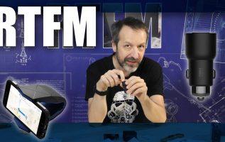 RTFM#24 - Φόρτιση 2.4Α και μουσική στο αυτοκίνητο με το Xiaomi ROIDMI 3S
