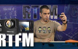 RTFM#27 - 4K Action Camera Hawkeye Firefly 8SE με φακό 170 μοιρών