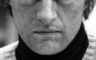 Rutger Hauer (January 23, 1944 - July 19, 2019) photographed by Bob Willoughby....