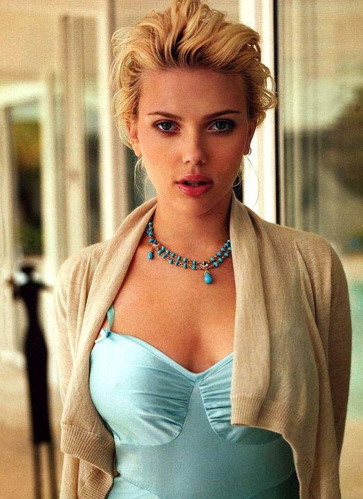 Scarlett Johansson photographed by Gilles Bensimon.... 1
