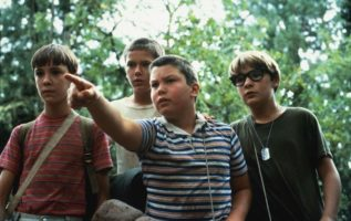 Stand By Me (1986).,  Wil Wheaton, River Phoenix, Jerry O'Connel.and Corey Feldm...