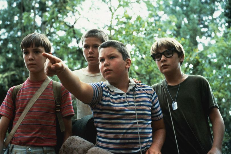 Stand By Me (1986)., Wil Wheaton, River Phoenix, Jerry O'Connel.and Corey Feldm... 1