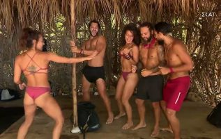 Survivor 2021   Κόκκινη Ομάδα: Πρόβα χορογραφίας για την Πούντα Κάνα   04/05/2021