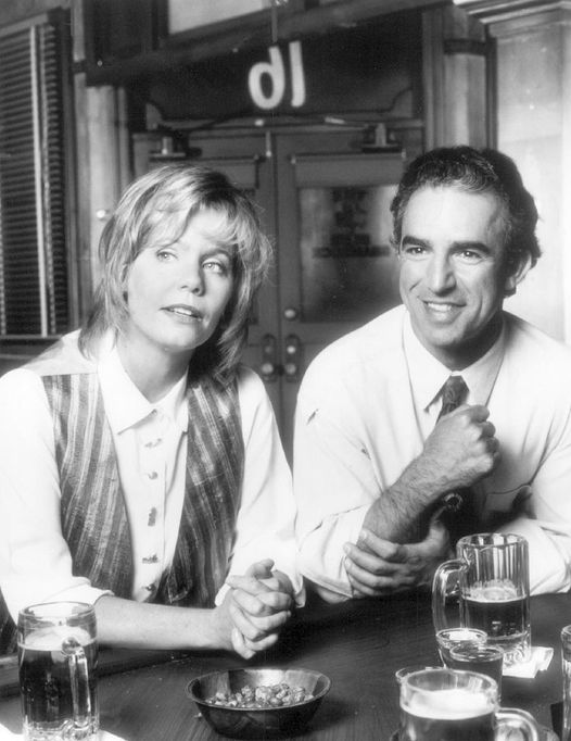 Susan Dey and Jay Thomas (July 12, 1948 - August 24, 2017). Love and War... 1