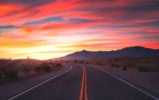 """The Highway of Colours"" Anza Borrego Desert State Park, Colorado Desert, Southe..."