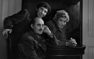 The Marx Brothers photographed by Yousuf Karsh....