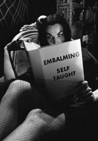 Vampira photographed by Dennis Stock....