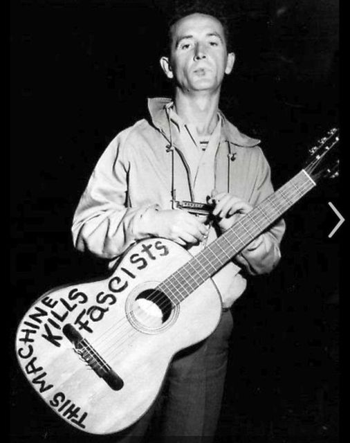 Woody Guthrie (July 14, 1912 - October 3, 1967).... 1