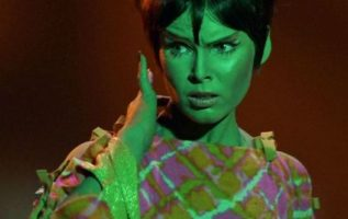 "Yvonne Craig as Marta in The Star Trek Episode, ""Whom God's Destroy.""..."