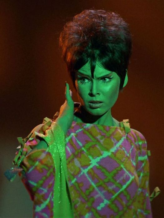 "Yvonne Craig as Marta in The Star Trek Episode, ""Whom God's Destroy.""... 1"