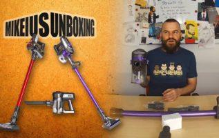 Επαναφορτιζόμενες σκούπες 2 σε 1 - Mikeius Unboxing