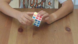 Κύβος του Ρούμπικ. Λύσιμο του κύβου (χωρίς επεξήγηση της λύσης) / Rubik's cube
