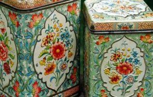 Πολλά νοικοκυριά είχαν αυτά τα κουτιά για καφέ και ζάχαρη. Ισως κ εσείς ;;...
