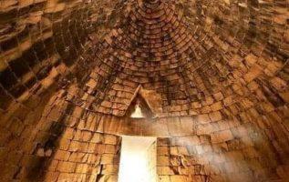 Τάφος Αγαμέμνονος ή Αντρέως 1.300 - 1.200 πχ Πελοπόννησος....