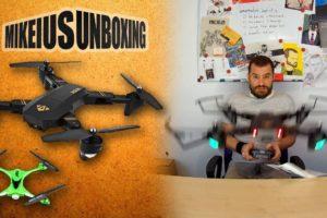 Το καλύτερο  φτηνό drone της αγορας - Mikeius Unboxing