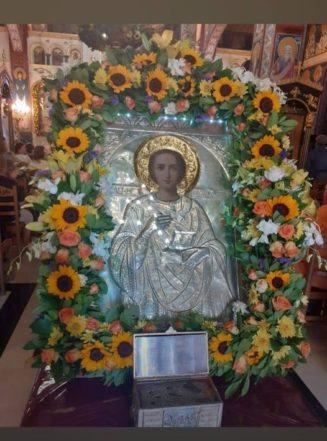 Ο Άγιος Ιατρός Παντελεήμων Βοήθεια σε όλο τον κόσμο και εμάς αμήν!...