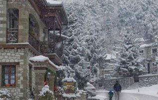 Winter in Greece...