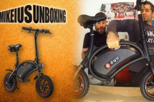 F-Wheel electric Bike - Mikeius Unboxing