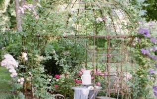 """""""Isn't it enough to see that a garden is beautiful without having to believe tha..."""