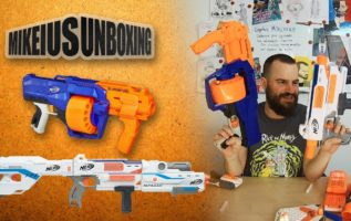 NERF Mediator & NERF Surgefire - Mikeius Unboxing