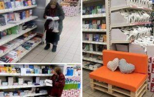 Κάθε μέρα ήταν εκεί. Δεν της περίσσευαν να αγοράσει, αλλά δεν ενοχλούσε και κανέ...