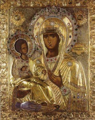 Σύναξη της Παναγίας της Τριχερούσας στο Άγιο Όρος Εχθές γιόρταζε !!!!|...