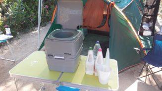 Χημική τουαλέτα . Ετοιμασία, Χρήση, άδειασμα, καθαρισμός, αποθήκευση.