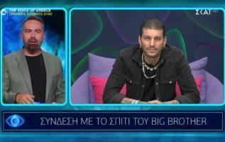 Big Brother   Σύνδεση με τον Στιβ από το σπίτι του ΒΒ   17/09/2021