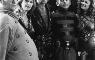 Buck Rogers with John Quade, Nancy DeCarl, Gil Gerard, Frank Gorshin, Anthony Ja...