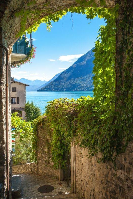 Gandria - Lake Lugano - Switzerland... 1