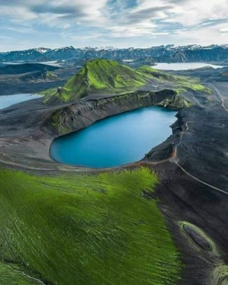 The magical land of Iceland...