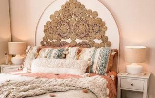 Βελτιώστε τη γοητεία του υπνοδωματίου σας με μποέμ κρεβάτια ...