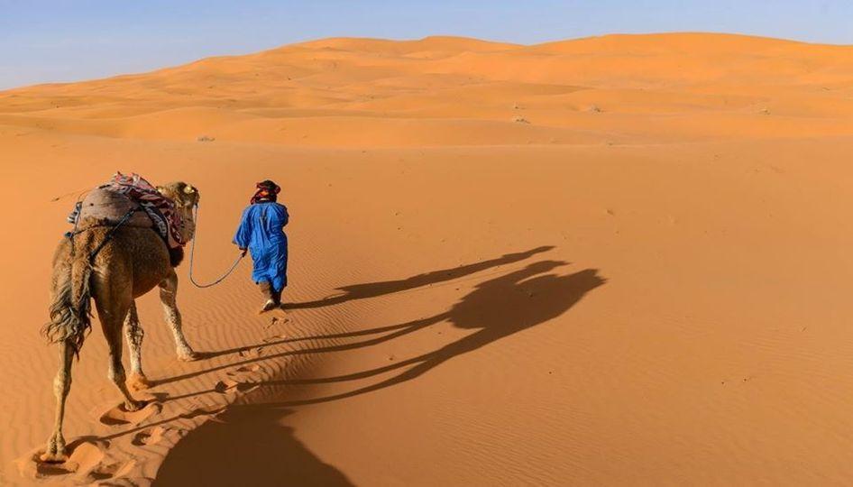 Γνωρίζετε ότι, στη Σαχάρα κατά τη διάρκεια του καλοκαιριού, ενώ τη μέρα η θερμοκ... 1