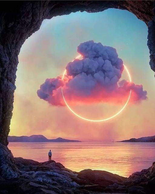 Η φύση ζωγραφίζει με το χέρι του θεού αριστουργήματα... 1