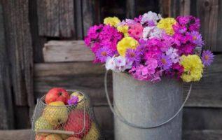 Με τα λουλούδια ζωντανεύουν κ παίρνουν ζωή τα παλιά !!...