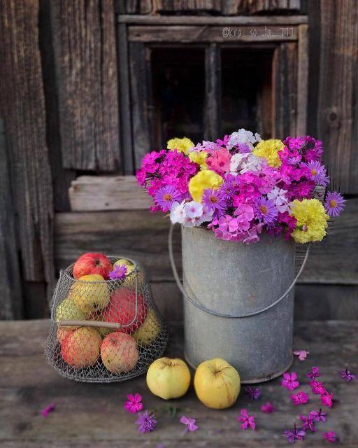Με τα λουλούδια ζωντανεύουν κ παίρνουν ζωή τα παλιά !!... 1
