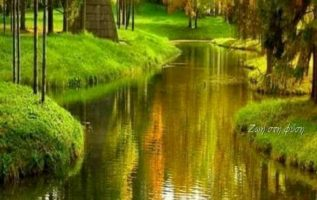Μόνο η φύση μπορεί να προσφέρει τόση γαλήνη....