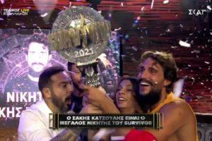 Ο Σάκης Κατσούλης είναι ο μεγάλος νικητής του Survivor 2021 | 05/07/2021