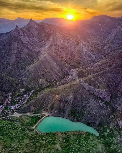 Crimea, Mountain lake Panagia.... 1