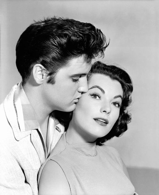 Elvis Presley (January 8, 1935 - August 16, 1977) and Judy Tyler (October 9, 193... 1