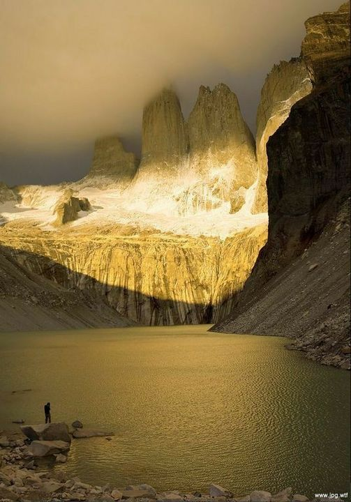 Guardians of the Dawn, Torres del Paine National Park, Chile... 1